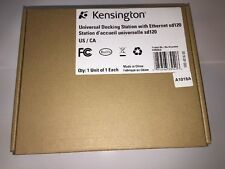 KENSINGTON K33949US SD120 UNIVERSAL DOCKING STATION W/ ETHERNET NEW IN BOX