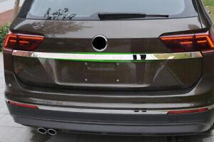 Steel Rear Trunk Lid Decorative Cover Trim For VW Volkswagen Tiguan 2017-2021