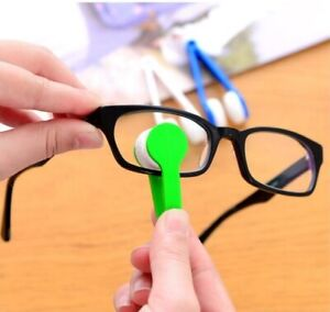 Mini Soft Eye Glasses Lens Cleaning Brush Cleaner Wipe Spectacles Screen Rub