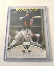 TIM TEBOW 2016 LEAF BASEBALL (RC) (METS) #LBTT2 (Free Shipping)!