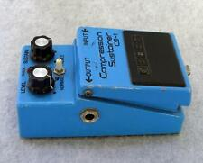 Boss cs-1 COMPRESSION SUSTAIN-ER Guitar Effect Pedal TESTED WORKING cs1 JAPAN cs