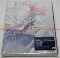 EGOIST GREATEST HITS 2011-2017 ALTER EGO Limited Edition Type A CD Blu-ray Japan