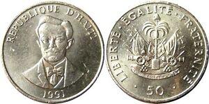 elf Haiti 50 Centimes 1991  Charlemagne Peralte