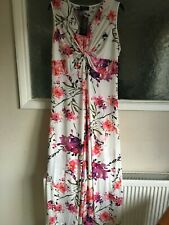 Ladies Multicoloured Maxi Dress by Grace Size 16 BNWT