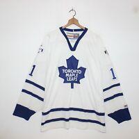 Vintage Owen Nolan Toronto Maple Leafs CCM NHL Hockey Jersey Mens Size 2XL