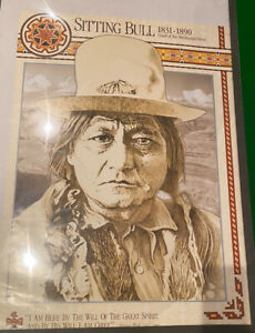 Sitting Bull Poster American Indian