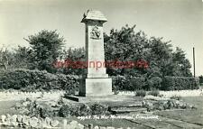 REAL PHOTOGRAPHIC POSTCARD OF THE WAR MEMORIAL, CRANBROOK, KENT, BY SWEETMAN