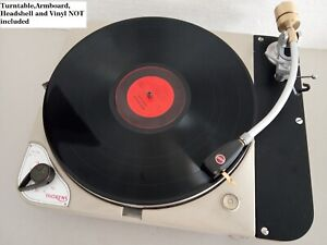 """Tonearm Ortofon 230 10"""" banana for Thorens TD 124 and many others turntables"""