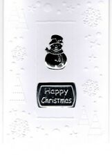 Hand crafted Christmas card + white envelope