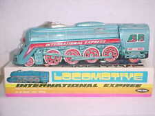 60s' China Tin Toy Large Train Longmotive International Express w Sound (MF 804)