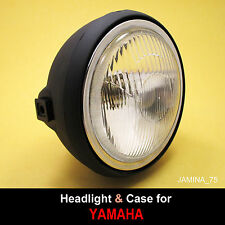Yamaha DT80 DT100 DT125 DT175 DT250 DT400 Headlight Light Lamp 6 V. + Rim + Case