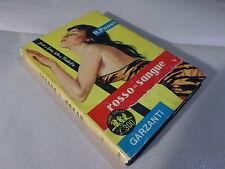 Serie Gialla Garzanti n.102 R. Powell ROSSO = SANGUE 1^ Ediz. 1957