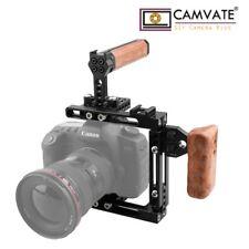CAMVATE Kamera Käfig Cage Griff Links fr Canon 80D 5DMarkIII Sony a7II GH5 Nikon