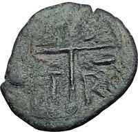 ROGER of SALERNO Antioch Crusaders after 1st Crusade Ancient Coin CHRIST i65035