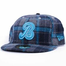 BODEGA x NEW ERA Flannel 59FIFTY Fitted Hat Cap Blue Grey 7 5/8