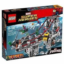 Lego Marvel Super Heroes Spider-Man: Web Warriors Ultimate Bridge Battle (76057)