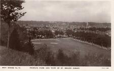 People's Park View of St Helier Jersey unused RP pc Pitt 75