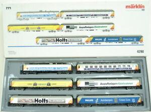 Marklin 4290 Shell Exhibition Train Set LN/Box