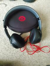 Beats by Dr. Dre Wired Headphones - Black and Red