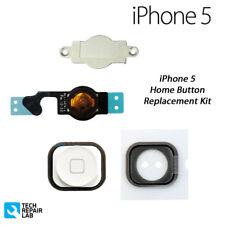 Nuevo Premium Recambio Complete Botón de Inicio Kit Reparación para Iphone 5 -