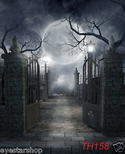 Halloween Thin photography Backdrop Background studio photo props 3X5FT TH158
