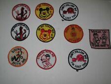 Vintage LOT Don't Be Meek Streak Patch Devil Made Honey Bee Streak Swing W Me