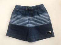 RRP $39.99. Size 4 Boy/'s Billabong Zesty Navy Elastic Beach Shorts NWOT