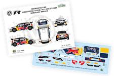 [FFSMC Productions] Decals 1/32 VW Polo R WRC  Skoda Rallye Liezen 2017 winner