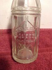 Vintage Squeeze Soda Bottle San Antonio Texas Rare Fine