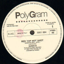 QUEEN B / ELECTRIBE 1.0.1. - Red Top Hot Shot / Talking With Myself - Polygram