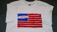 PIZZA MY HEART FLAG T-SHIRT   XL