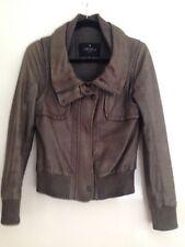 All Saints 100% Leather Jacket 10