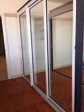 ALUMINIUM DOUBLE GLAZED STACKING DOORS |  2110h x 2410w
