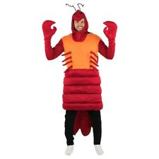 Adult Lobster Sea Animal Fancy Dress Costume Outfit Halloween Stag Hen