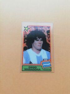 Cromo Transparencia Maradona España 82 Panini Nuevo