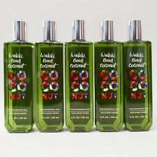 5 X Waikiki Beach Coconut Bath & Body Works Fine Fragrance Mist Lot 8Oz