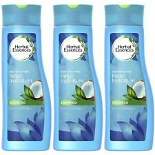 3 Pack x Herbal Essences Shampoo Hello Hydration Coconut Deep Moisture 200ml
