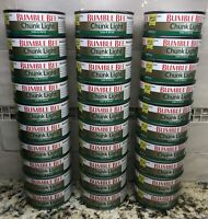 30 CANS Bumble Bee Chunk Light Tuna in Water 5 oz Can Protein FREE SHIP