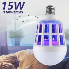 Electric LEV Light Bug Catcher Lamp Mosquito Killer Insect Fly Zapper LE