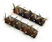 (Set M19S) 3, 6 or 12x March Brown Dry Trout Flies for Fly Fishing