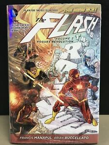 The Flash Vol 2 N52 by Francis Manapul and Brian Buccellato (2013, Hardcover)