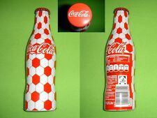Coca Cola EM 2008 Schweiz ALU Flasche/bottle/bouteille/bottiglia SELTEN/RARE