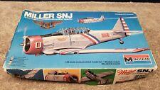 Vintage Monogram Miller SNJ Plastic Model Kit 1/48 Scale Boxed Sealed
