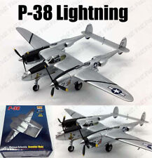 WWII US P-38 Lightning fighter aircraft Pacific 1/72 no diecast plane Easy model