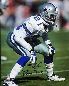 Dallas cowboys Deion Sanders Signed Autographed 8x10 photo Reprint