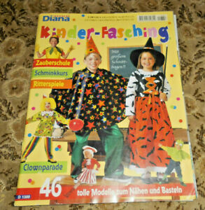 Diana aus DM-Zeiten Kinder Karneval Fasching Nähen  Schnittmuster Kostüme