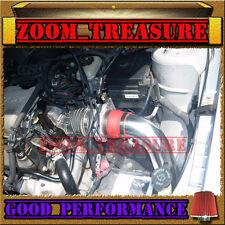 RED 1999-2005/99-05 PONTIAC GRAND AM/ALERO 3.4 3.4L V6 COLD AIR INTAKE KIT 2p