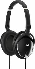 JVC High Quality Lightweight Headphones Black Electronics AUDIO OVER FOLDABLE