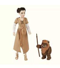 Star Wars Endor Adventure Princess Leia & Ewok Action Figures Rise Of Skywalker