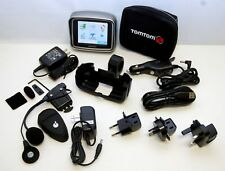 TomTom Rider 2 2nd Gps Motorcycle w/Zk Bike Set Us/Canada/Europe Map Software